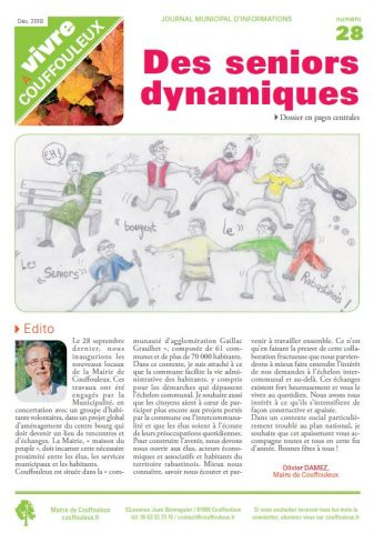 Magazine « Vivre à Couffouleux » n°28