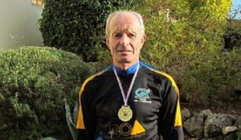 Christian Escudié, champion de France de course d'orientation de nuit
