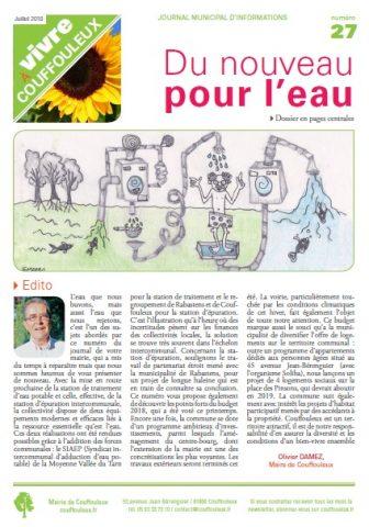 Magazine «Vivre à Couffouleux» n°27