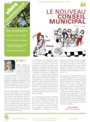 Magazine « Vivre à Couffouleux » n°21