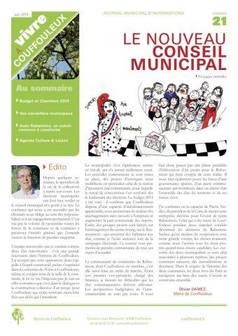 Magazine «Vivre à Couffouleux» n°21