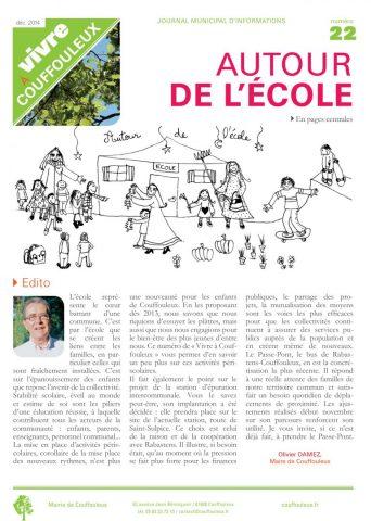 Magazine « Vivre à Couffouleux » n°22