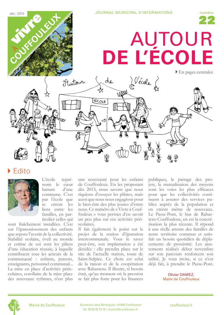Magazine «Vivre à Couffouleux» n°22