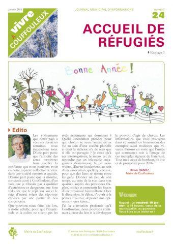 Magazine «Vivre à Couffouleux» n° 24