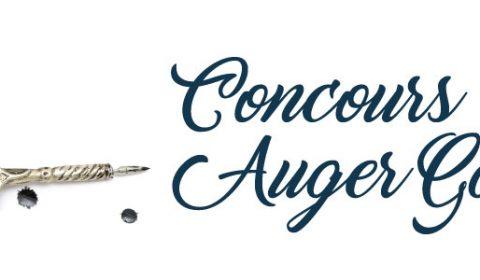 Concours de nouvelles Auger Gaillard : plus qu'un mois !