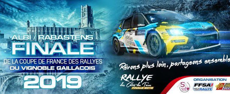 Finale de la coupe de France des rallyes