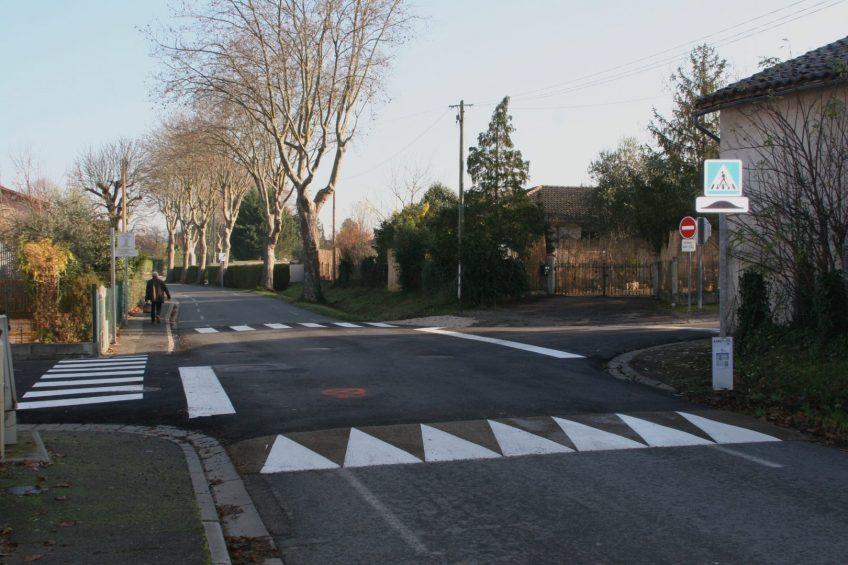 Travaux rue du Cèdre