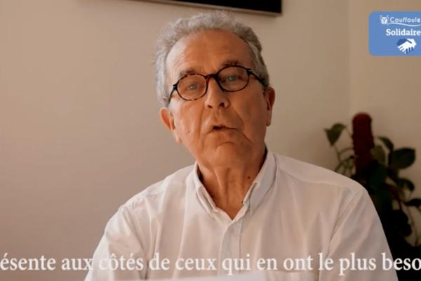 Olivier Damez, maire de Couffouleux