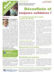Magazine « Vivre à Couffouleux » numéro spécial Coronavirus